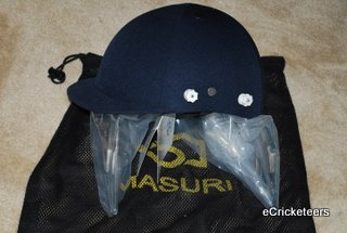 Masuri Helmet, Adjustable Head Size - with Mesh Bag