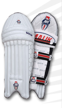 MB Malik Gold Leg Guards / Pads