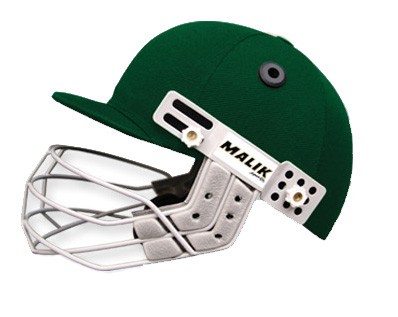 MB Malik Helmet :: Protective Gear :: The Cricketeers LLC
