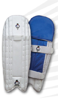 MB Malik Gold Wicket Keeping Leg Guards