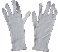 Gloves Inner - white - foam